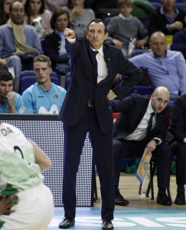 Salva Maldonado igualará con 584 partidos a Aranzana como sexto entrenador con más partidos ACB