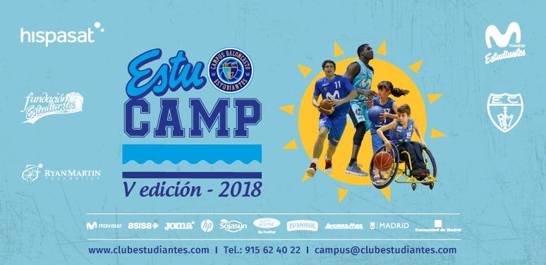 V EstuCamp: Campus Bilingüe de Perfeccionamiento de Baloncesto en Silla de Ruedas