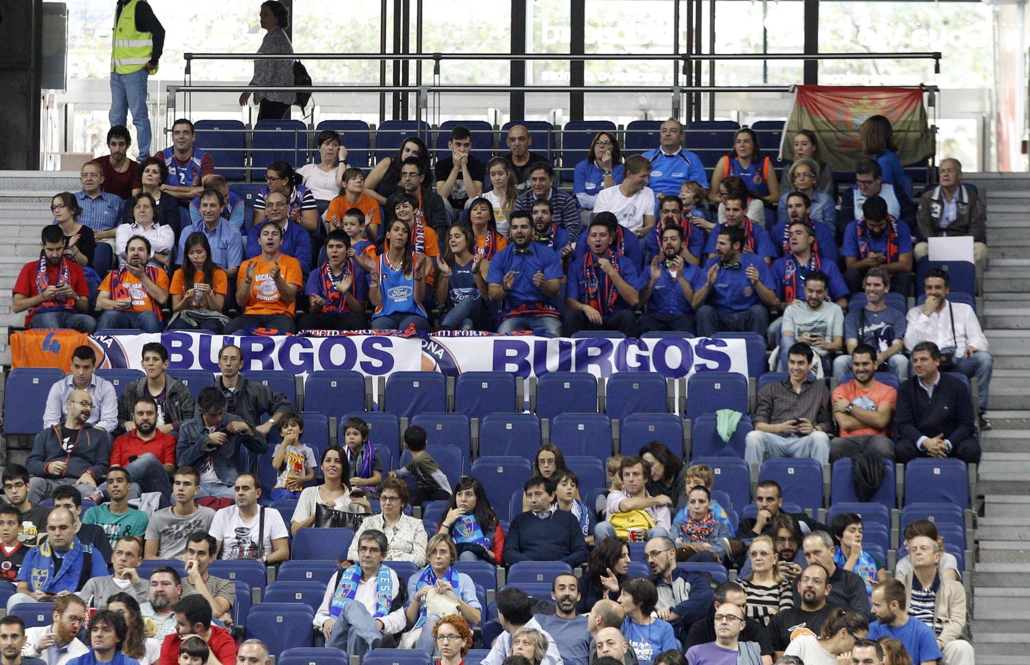 Primer duelo contra San Pablo Burgos… pero no la primera visita de la afición al baloncesto burgalesa