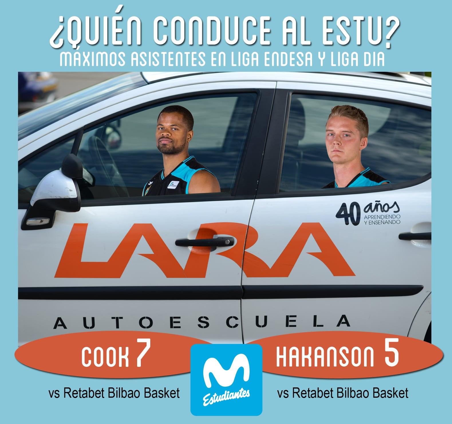 Conductores Autoescuela Lara: Omar Cook y Ludde Hakanson