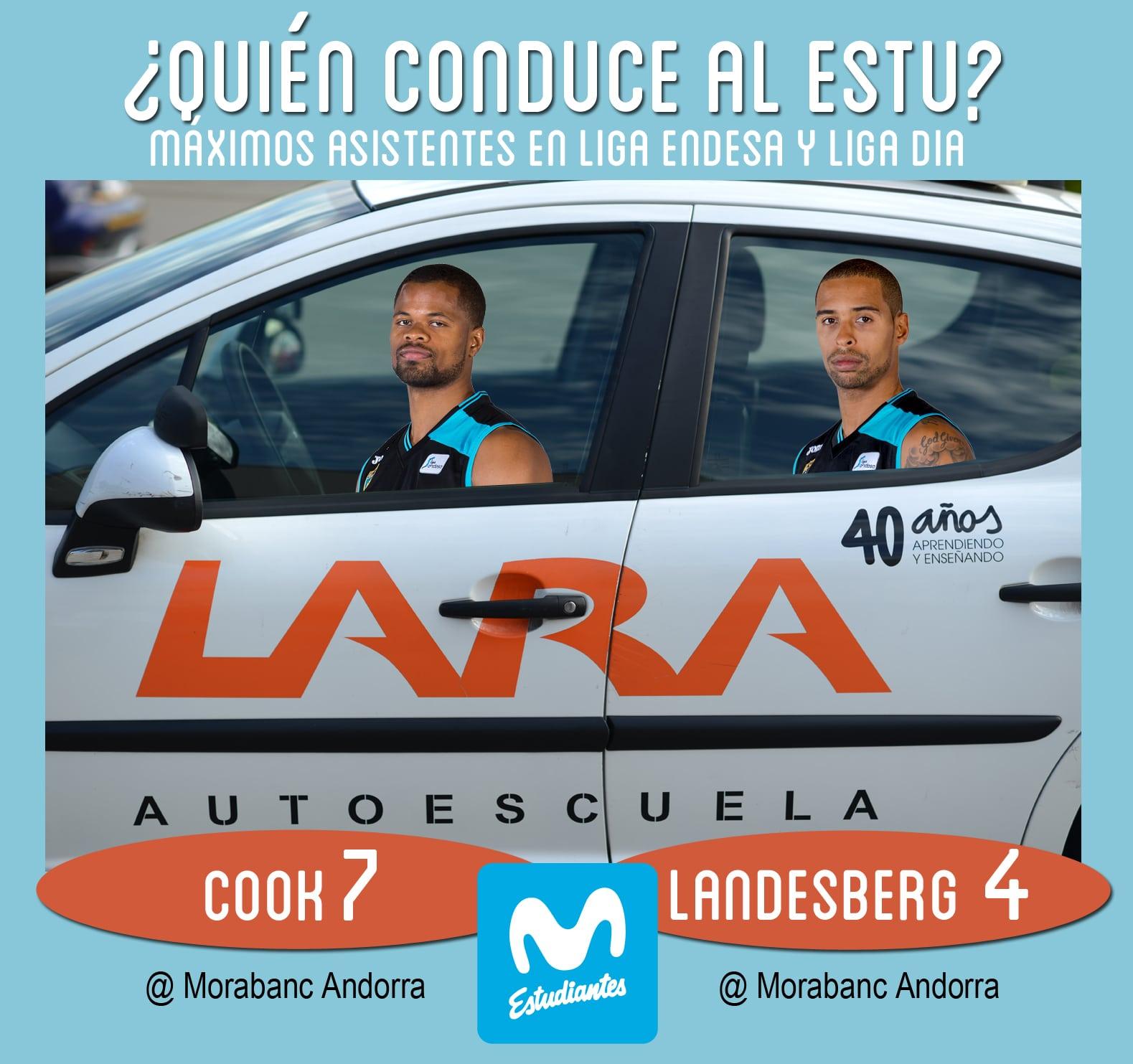 Conductores Autoescuela Lara: Omar Cook y Sylven Landesberg