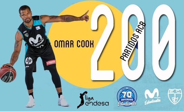 Omar Cook cumplirá 200 partidos en Liga Endesa