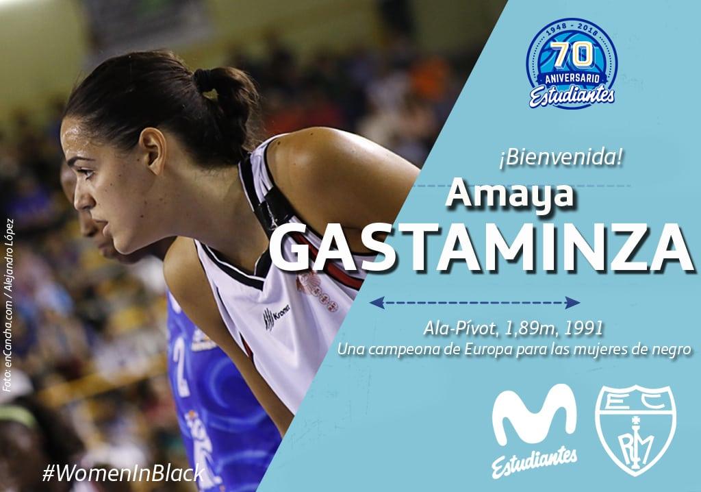 Amaya Gastaminza, una campeona de Europa para la pintura de Movistar Estudiantes en LF2