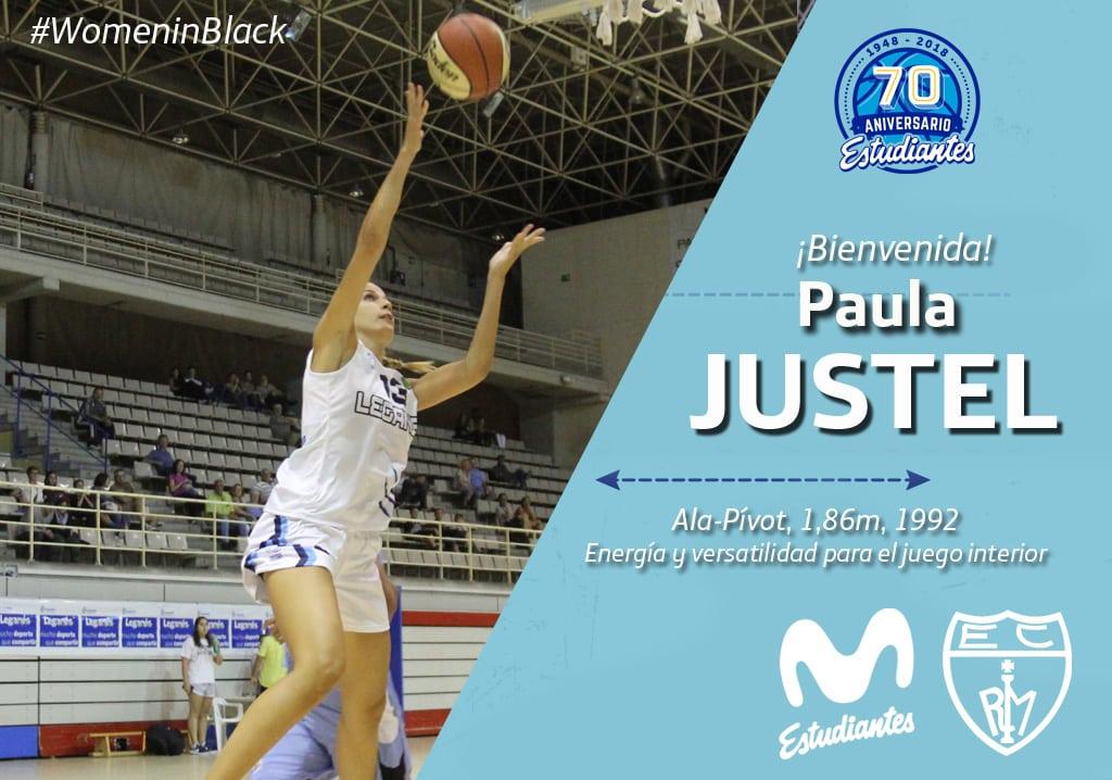 Paula Justel, versatilidad interior para Movistar Estudiantes