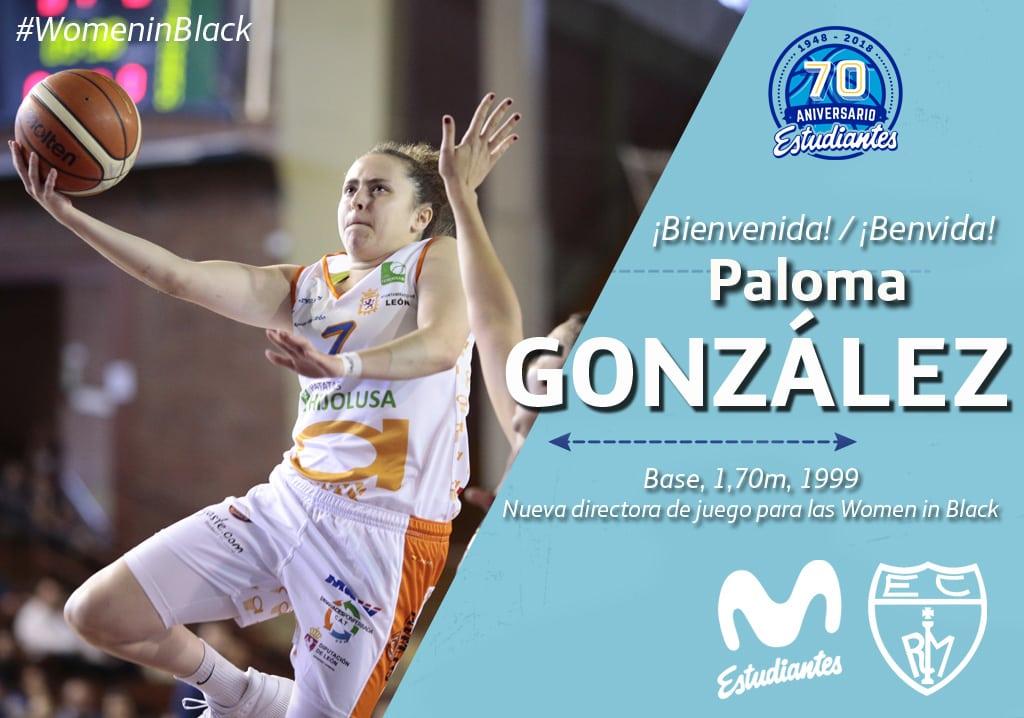 Paloma González, talento del 99′ para Movistar Estudiantes