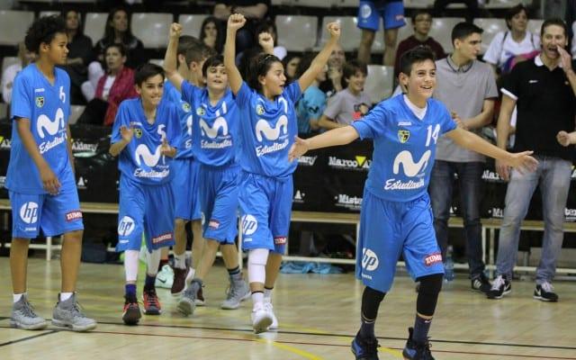 Movistar Estudiantes en L'Alqueria del Minibasket