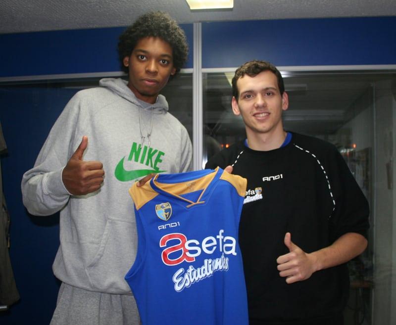 Los compañeros de habitación del EBA (1). Lucas Nogueira y Guillermo Herrero