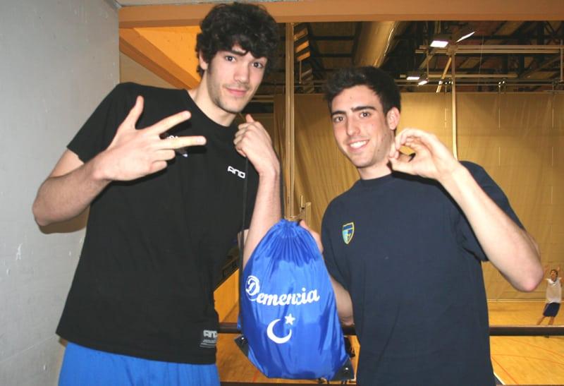 Los compañeros de habitación del EBA (4). Ubaldo Hidalgo y Álvaro Lobo