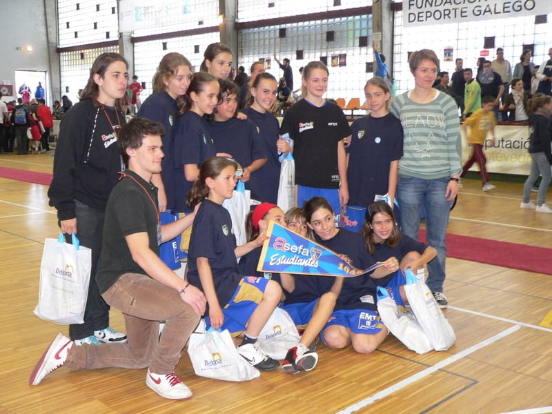 Blog de… cantera. En el Torneo Minibasket de Baiona