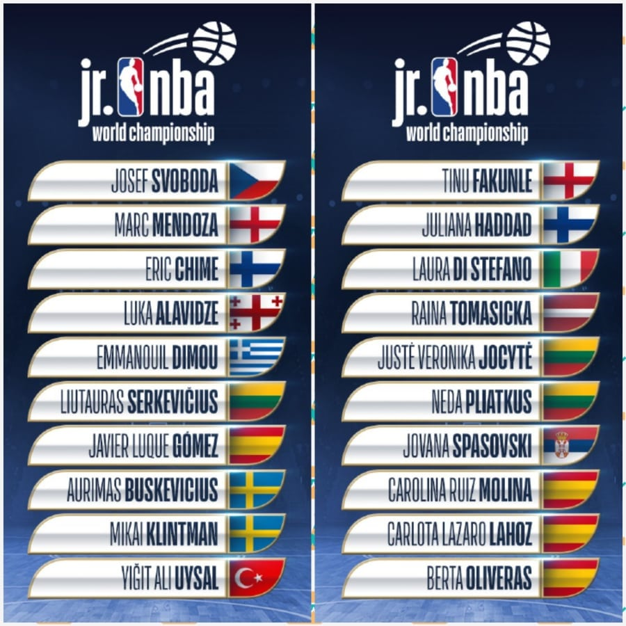 En el Jr. NBA World Championship