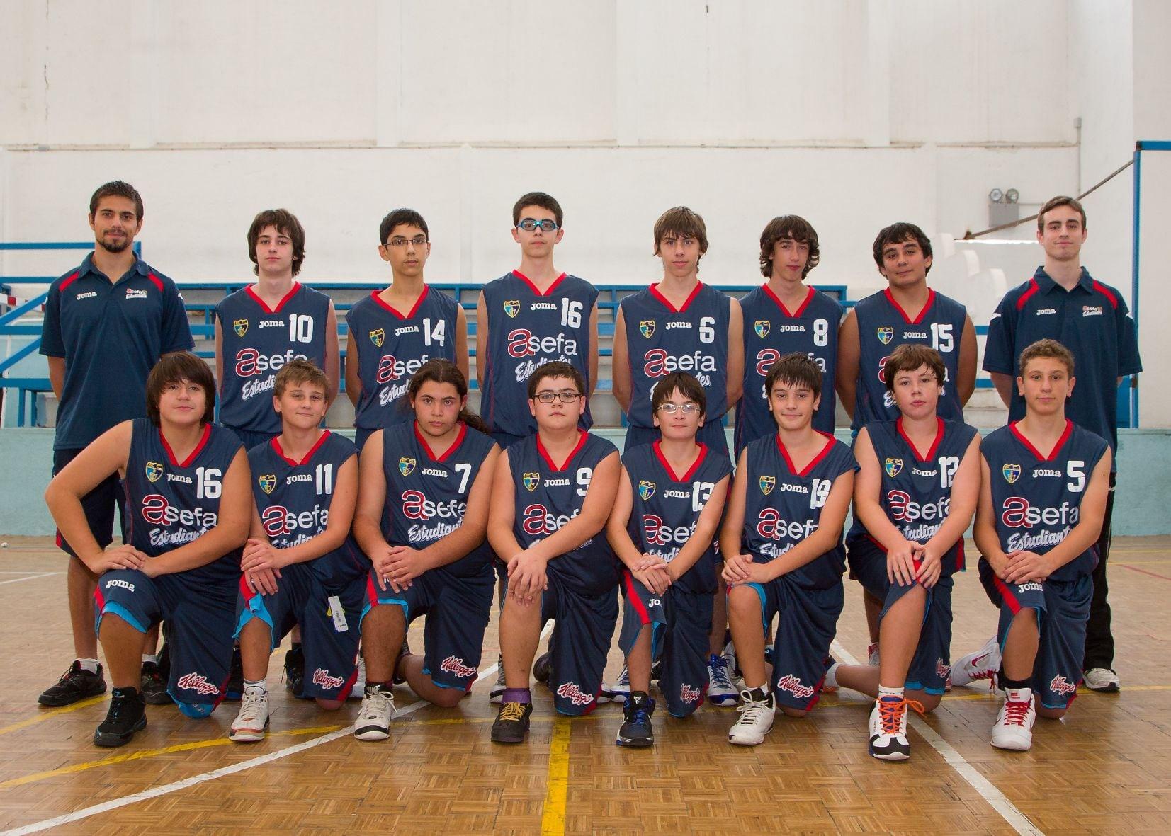 Cadete E Masculino 2012-13