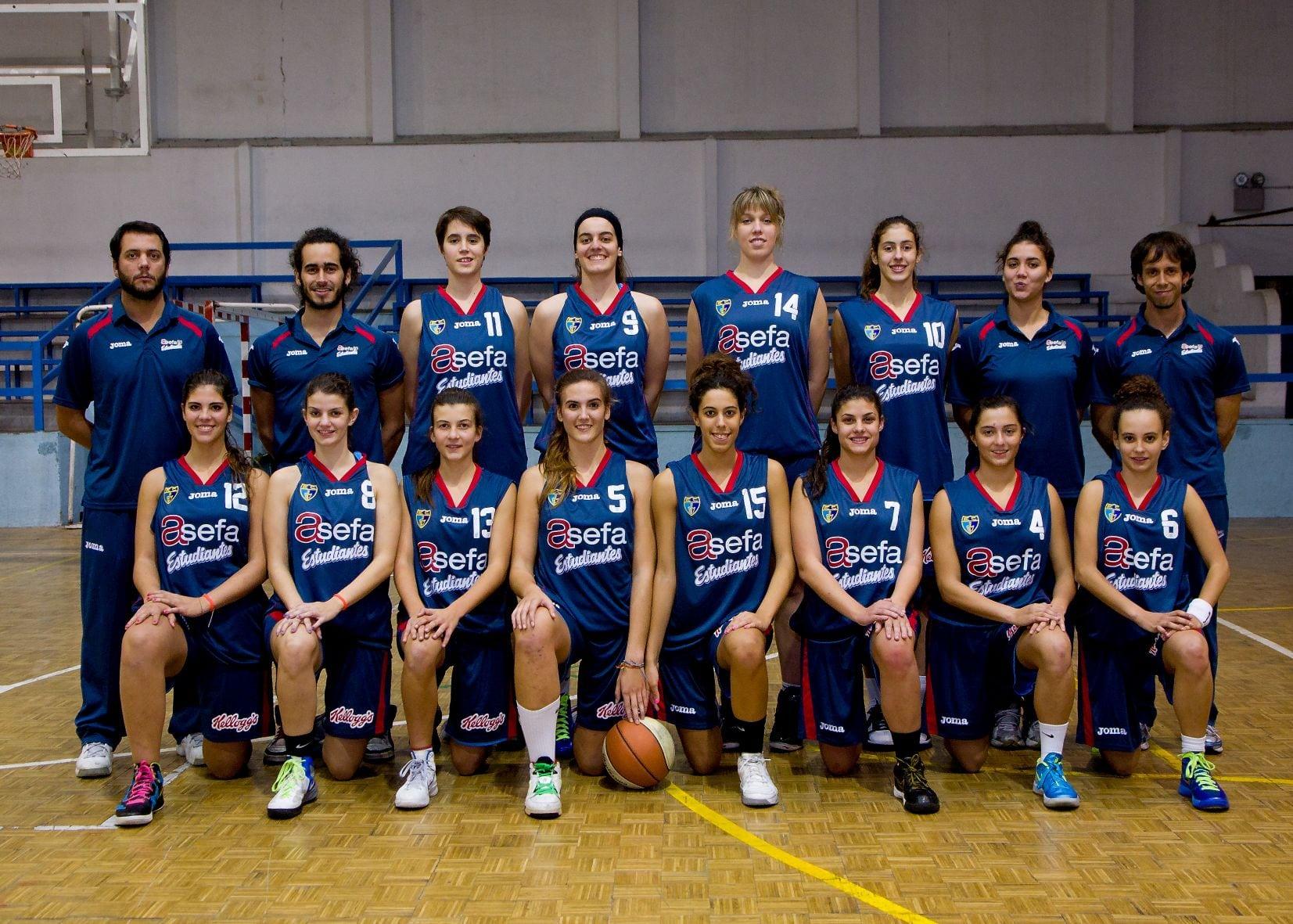 Junior A Femenino 2012-13