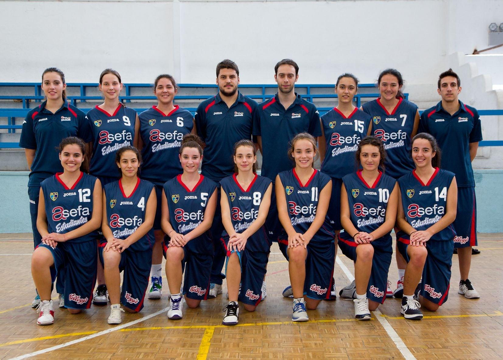 Junior B Femenino 2012-13