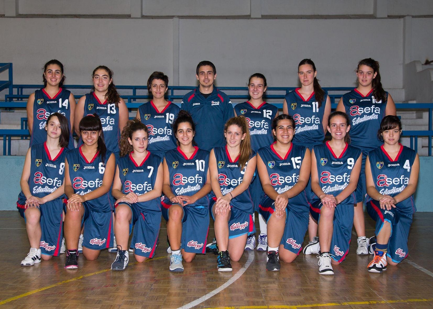 Junior C Femenino 2012-13