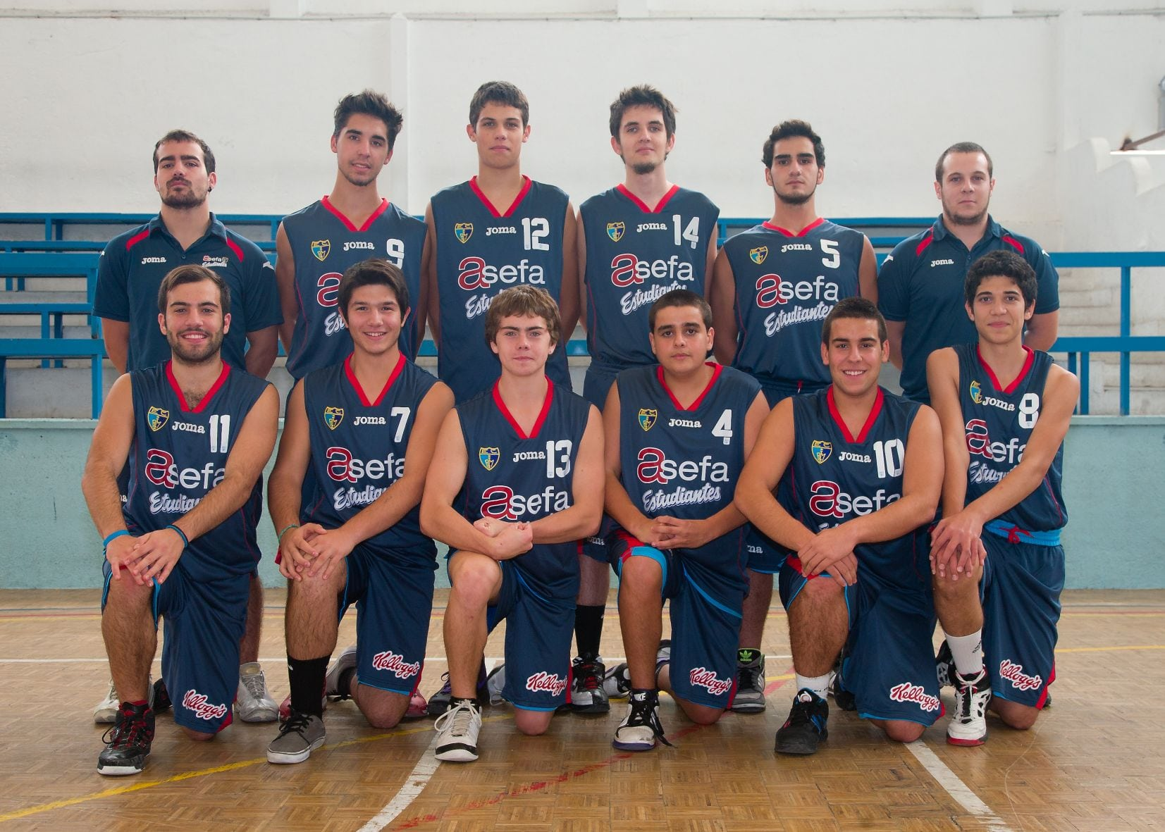 Junior D Masculino 2012-13