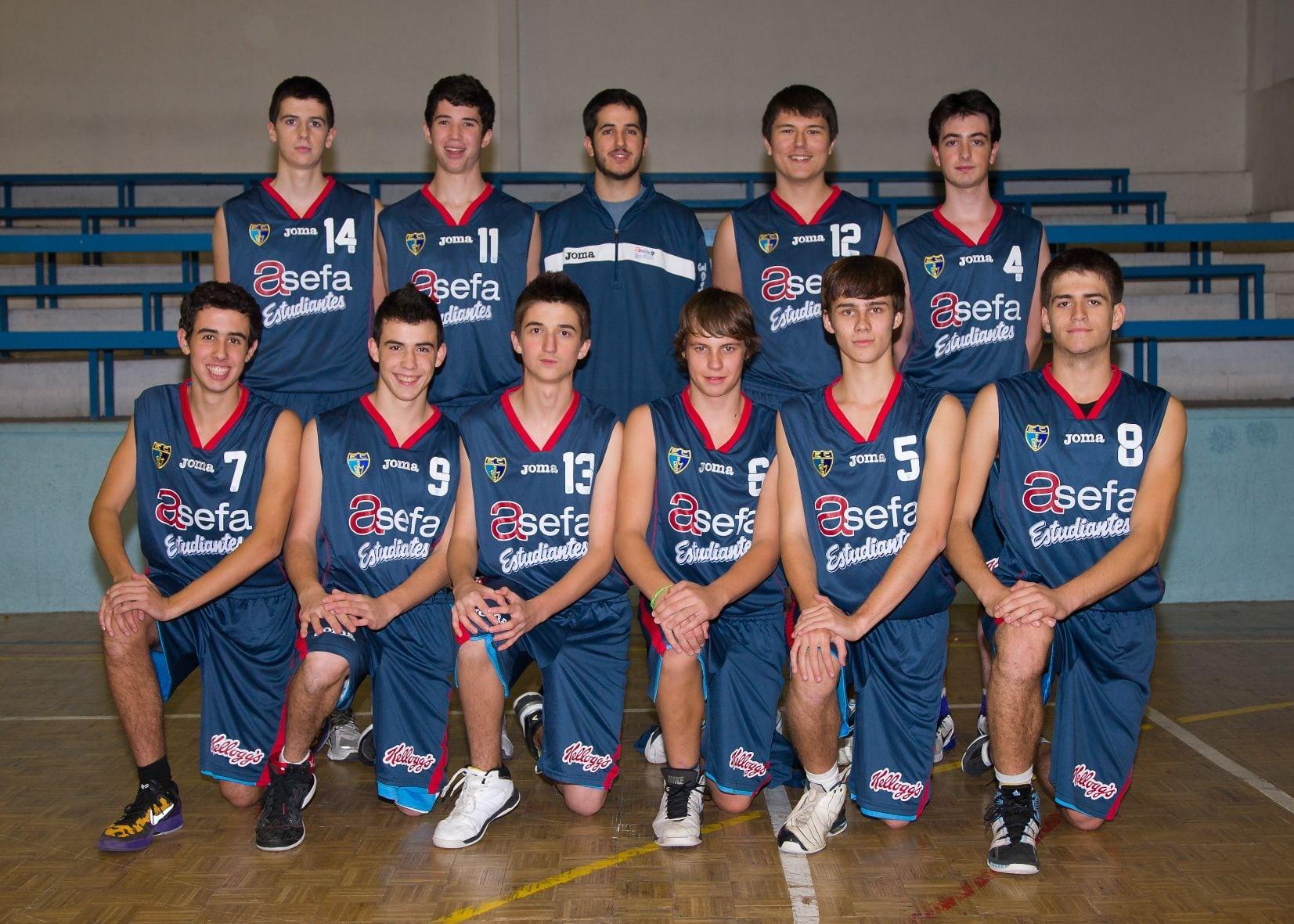 Junior G Masculino 2012-13