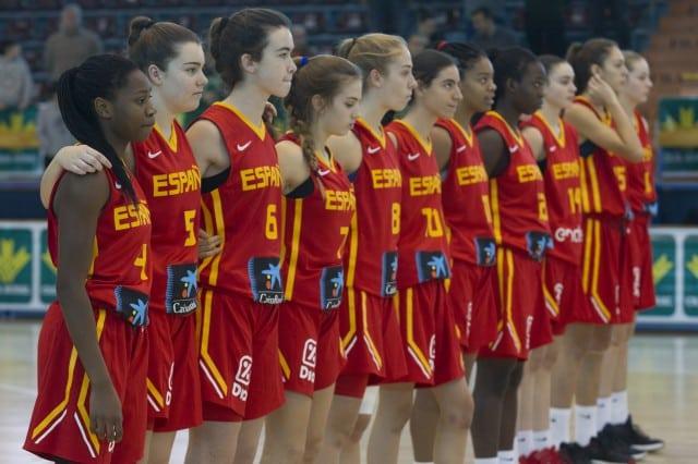 Cuatro en selecciones españolas femeninas