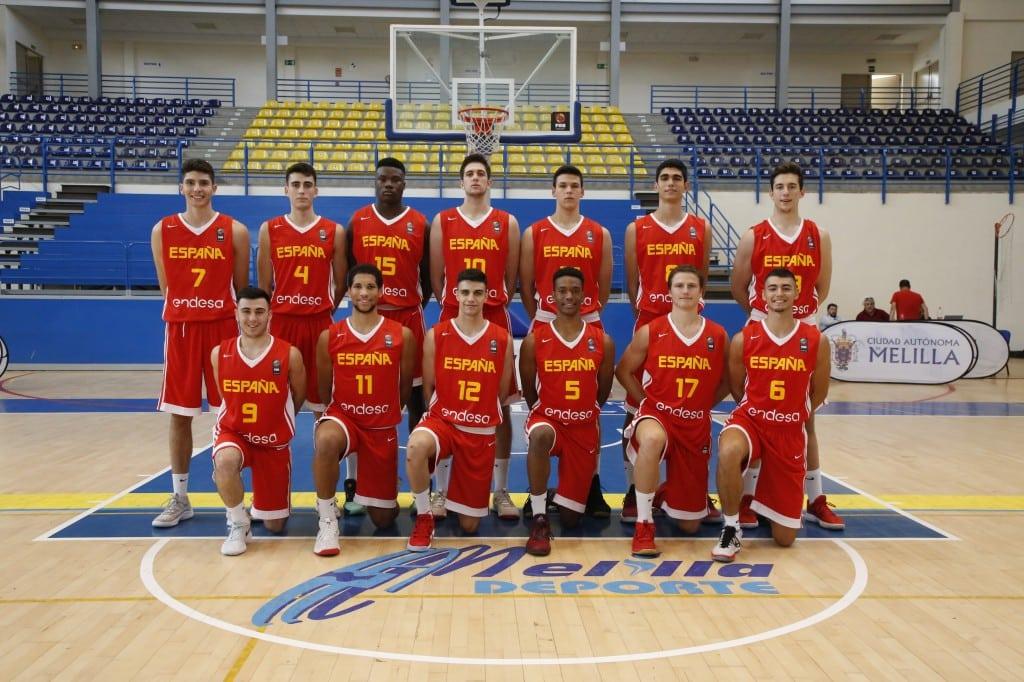 Europeo U18M con cinco de Movistar Estudiantes