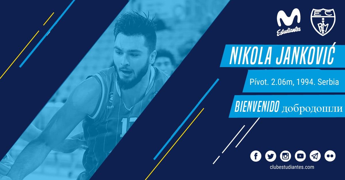 Nikola Jankovic, intensidad para la pintura de Movistar Estudiantes