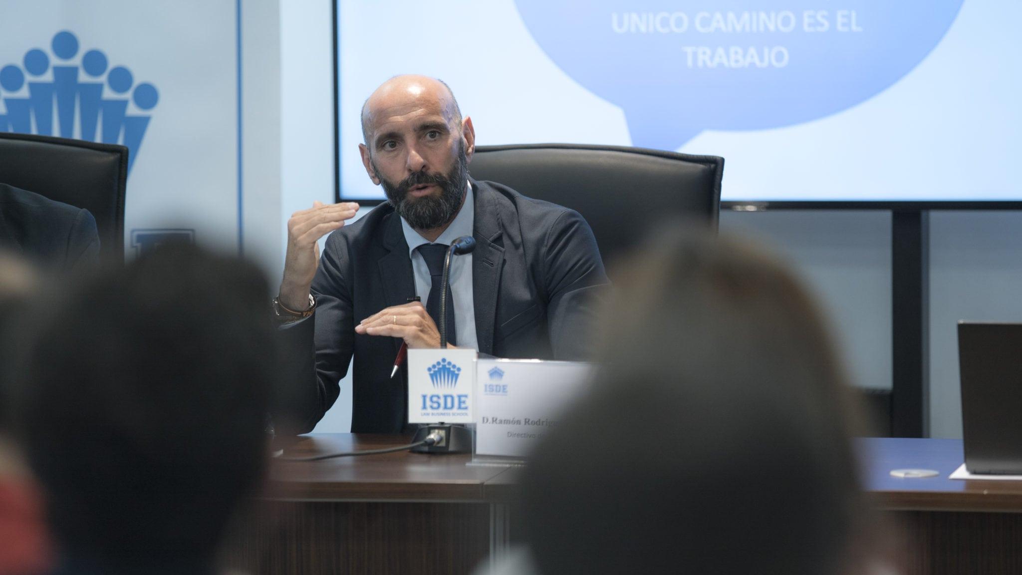 'Monchi', en el Máster en Derecho y Gestión deportiva ISDE – Club Estudiantes