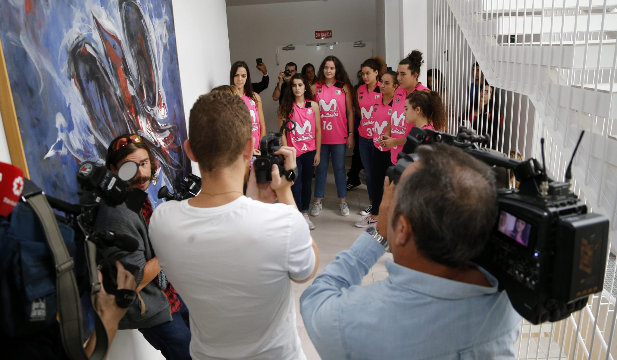 La lucha contra el cáncer de mama, en medios