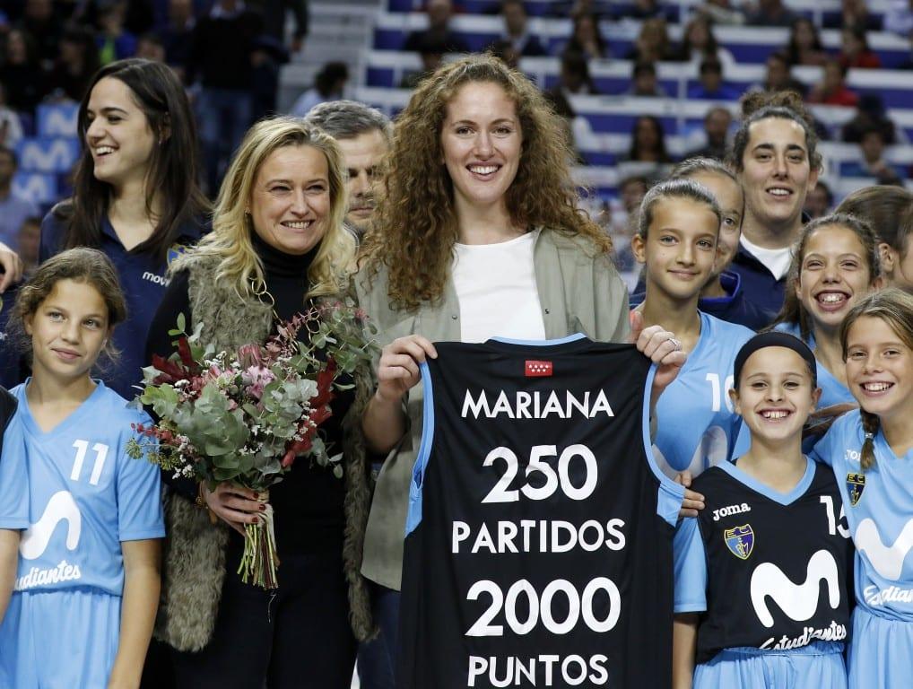 Mariana González, homenajeada