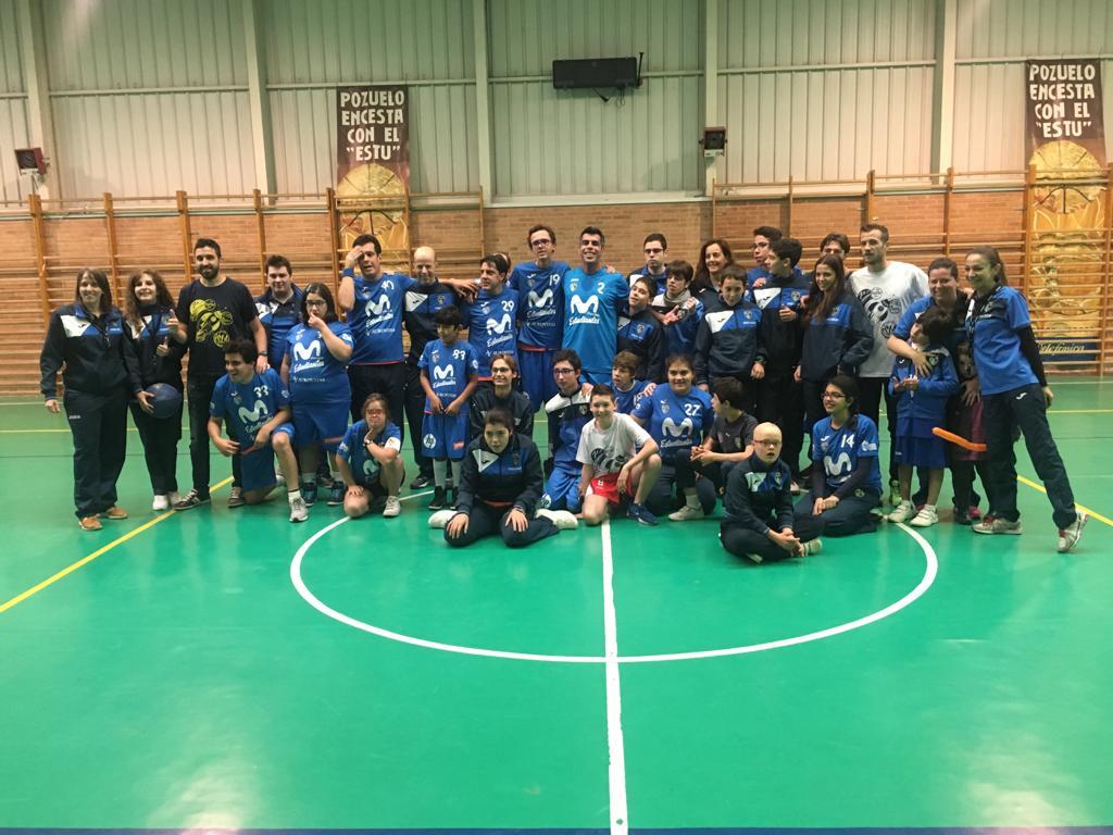 Campeones con los equipos de Fundación Estudiantes