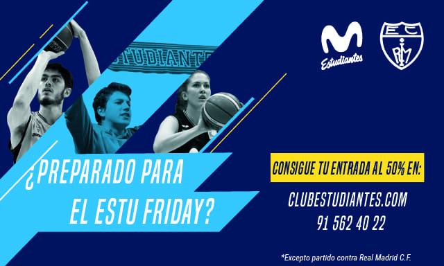 Black Friday en Movistar Estudiantes