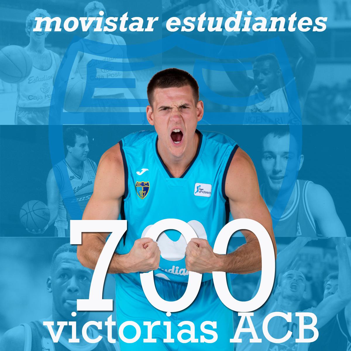 Movistar Estudiantes llega a las 700 victorias ACB