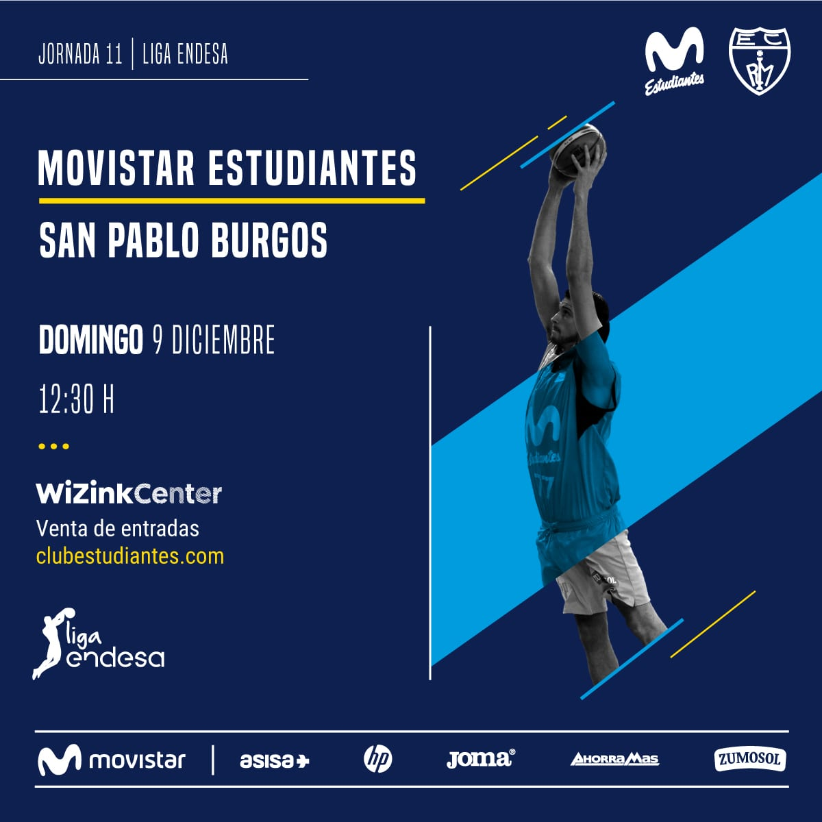 Movistar Estudiantes vs San Pablo Burgos