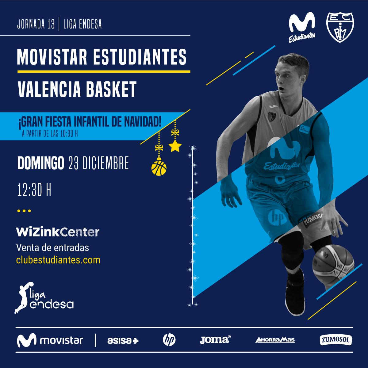 Domingo 23 vs Valencia BC