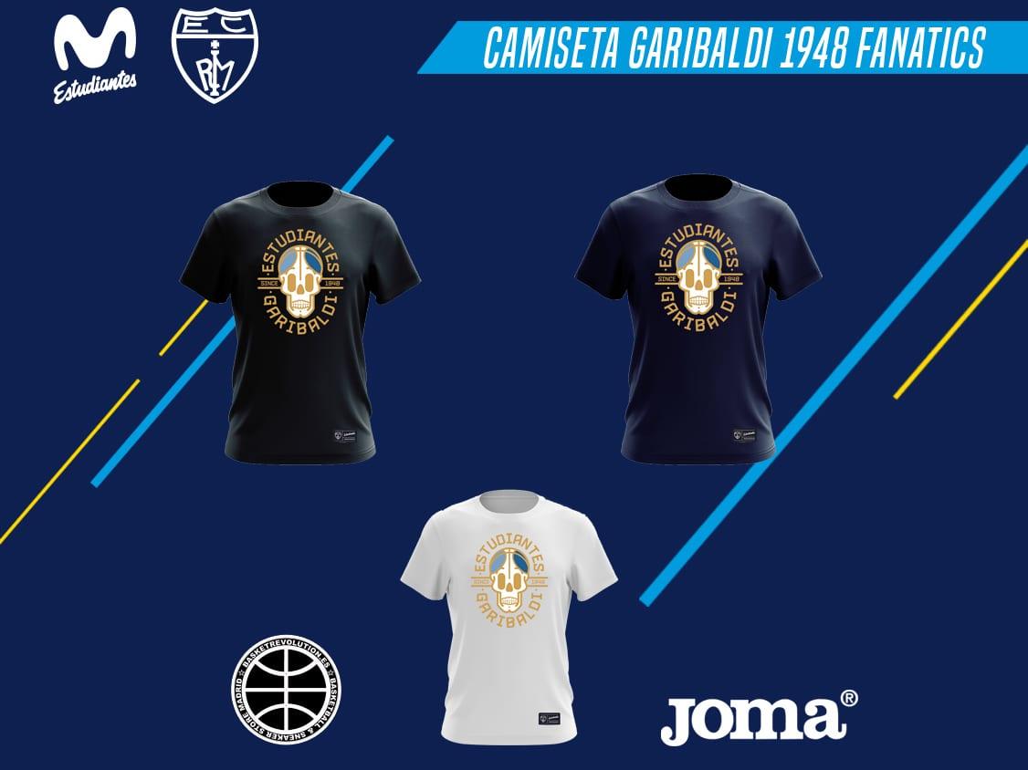 Nueva camiseta Garibaldi 1948 Fanatics