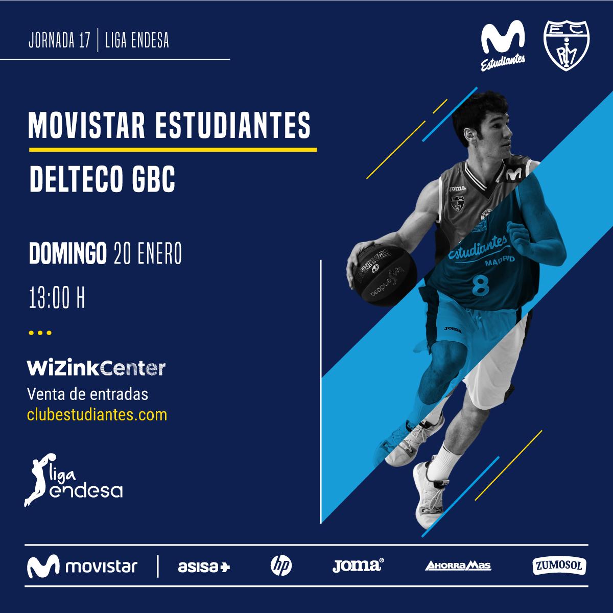 Movistar Estu – Delteco GBC, 20 enero 13h