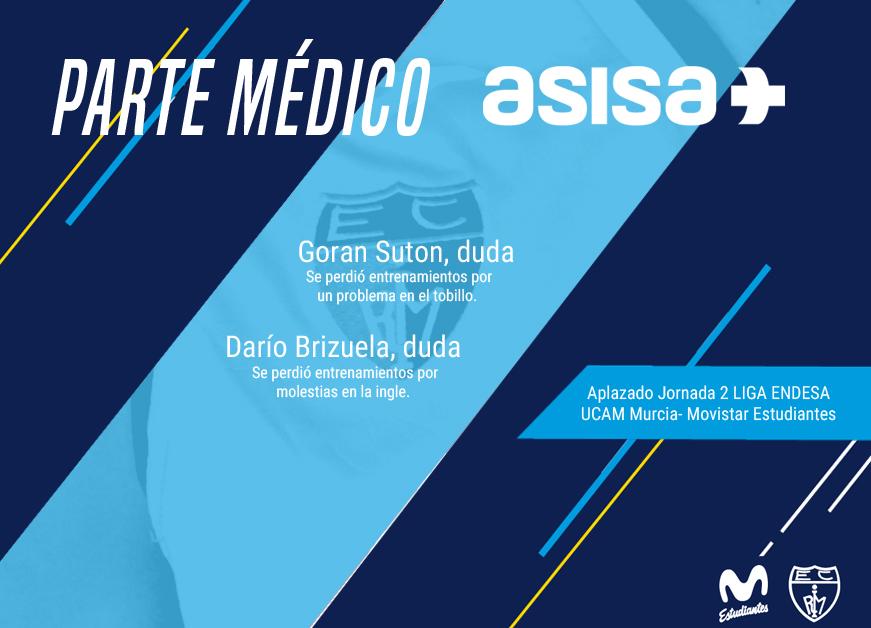 Parte médico con ASISA: Suton y Brizuela