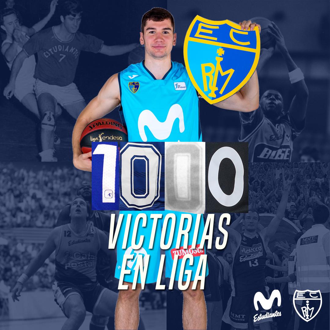 Movistar Estudiantes, 1.000 victorias en liga