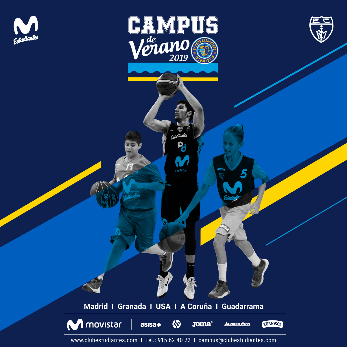 I Campus Élite Movistar Estudiantes
