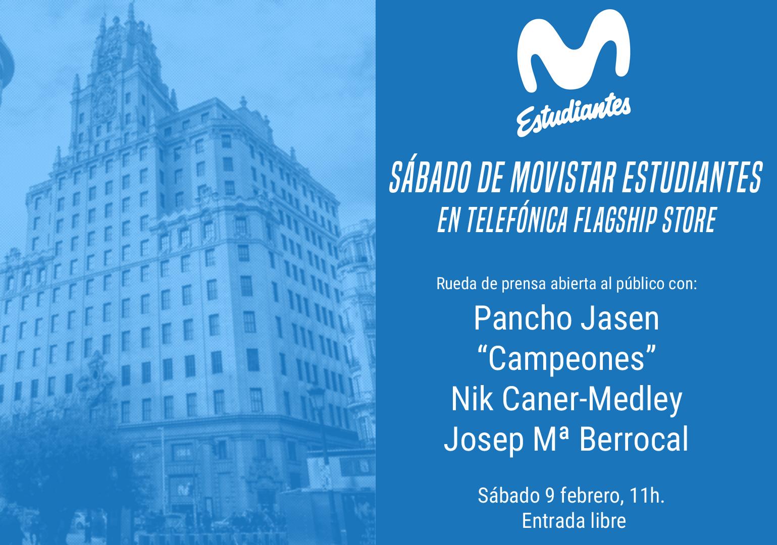 Sábado de Movistar Estu en Flagship Telefónica
