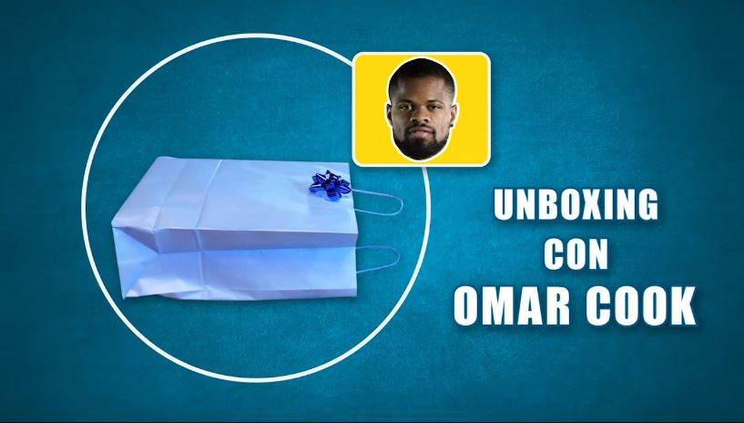 Unboxing con Omar Cook