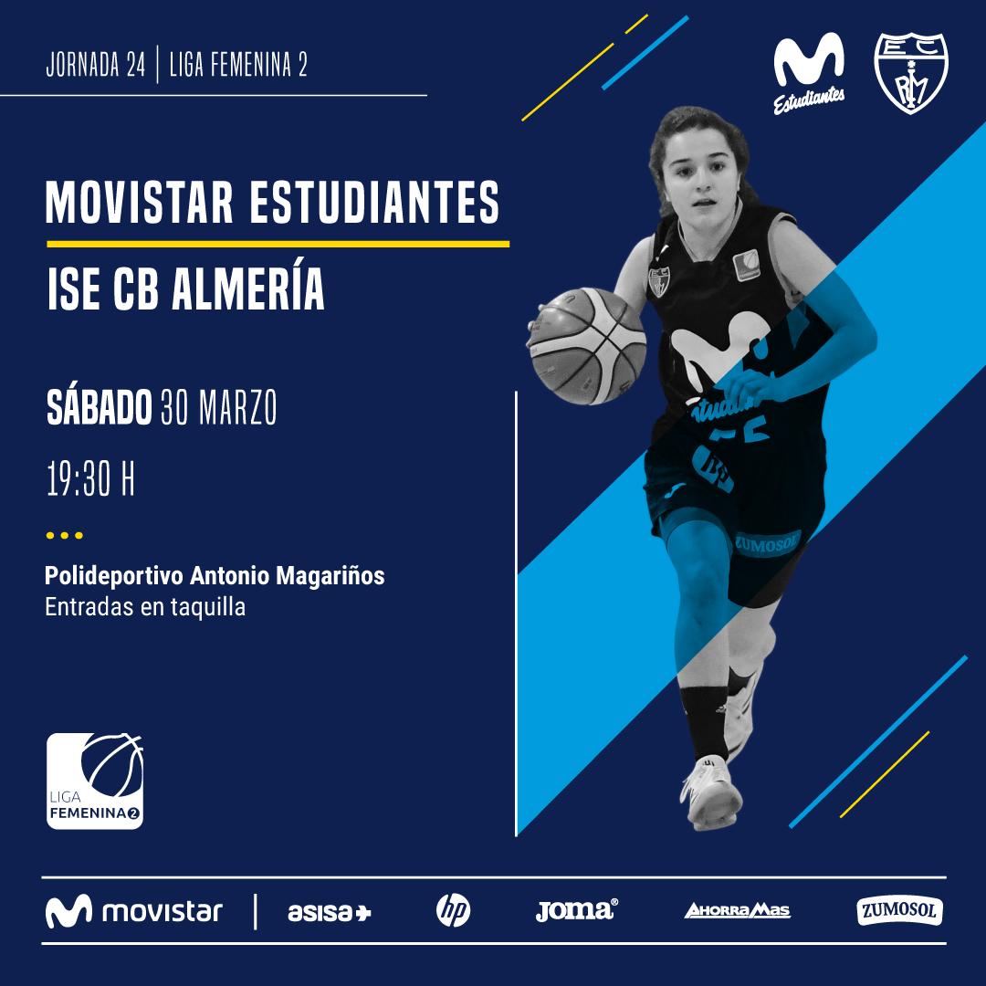 LF2: Movistar Estu- ISE Almería, sábado 30
