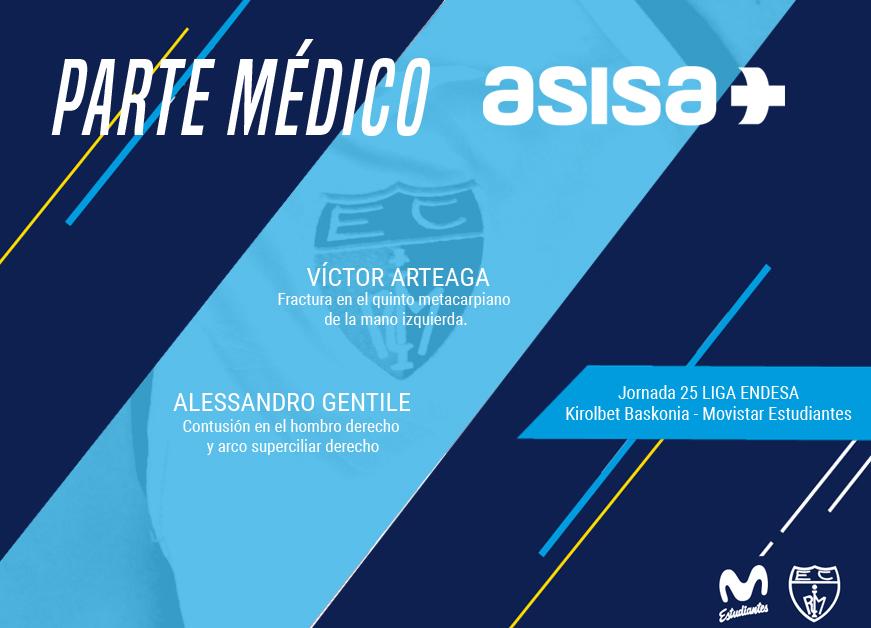 Parte médico ASISA @ Kirolbet Baskonia