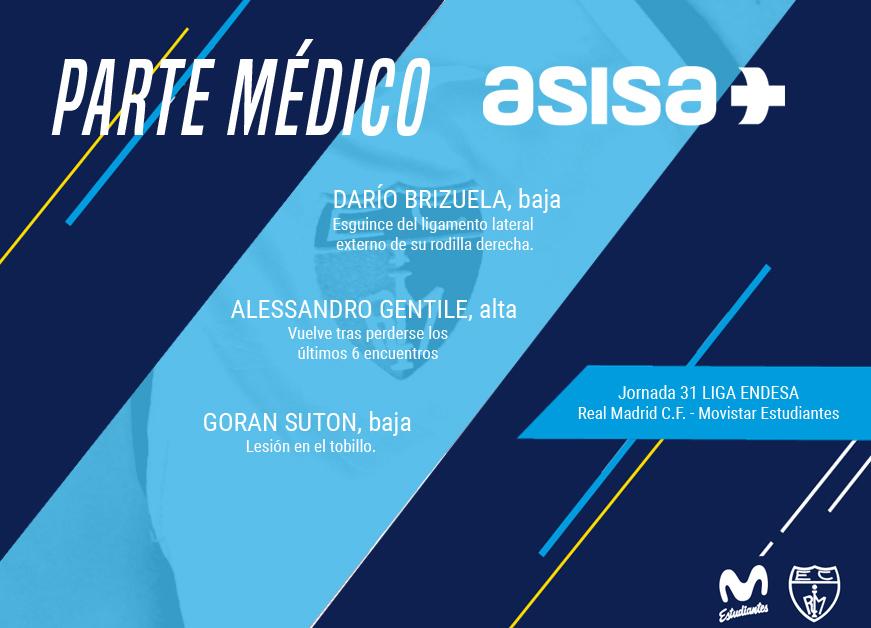 Parte médico ASISA @ Real Madrid C.F.