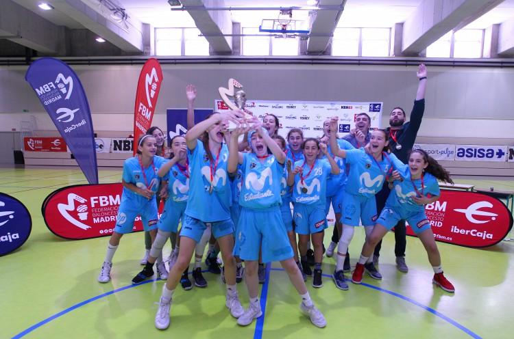 ¡Campeonas de Madrid en Preinfantil!