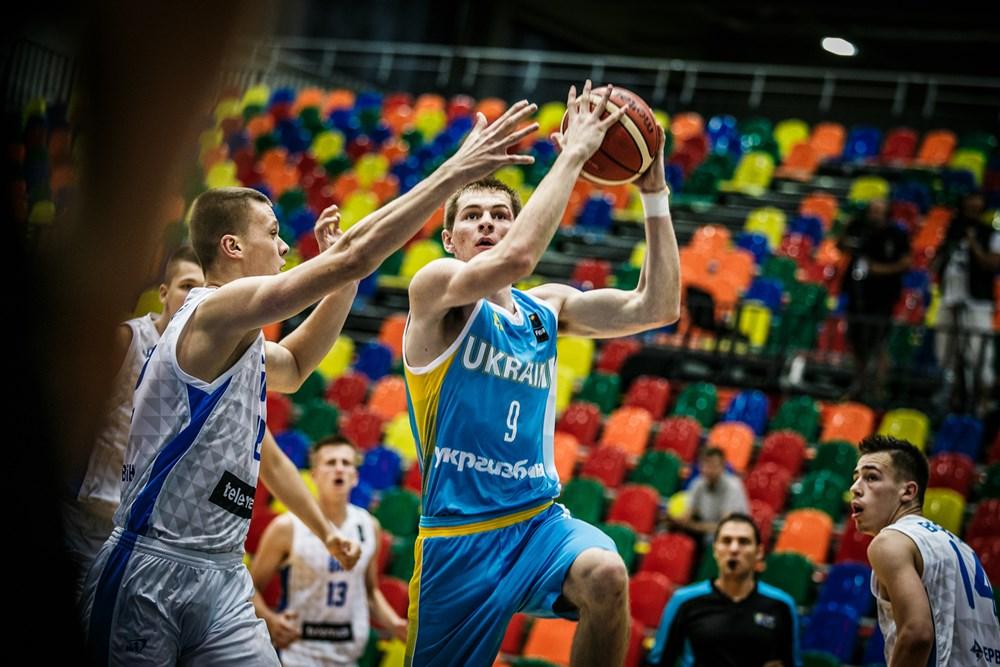 Andrei Grytsak, en la selección U20M de Ucrania