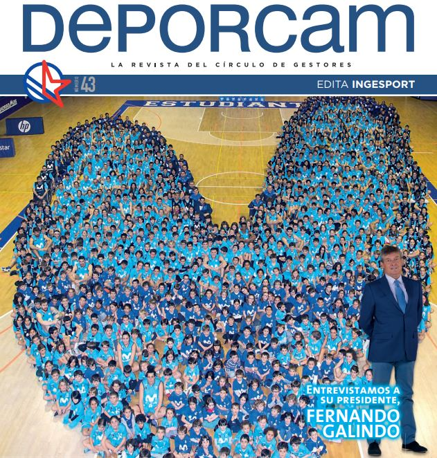 Movistar Estudiantes, protagonista en Deporcam