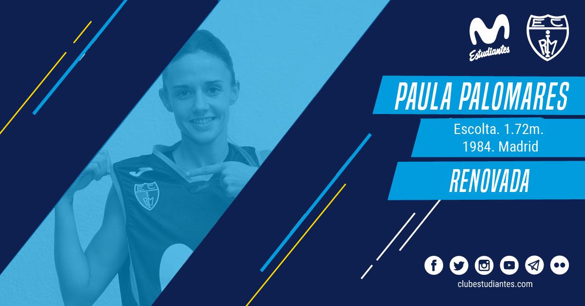 Paula Palomares, otro año con Movistar Estu