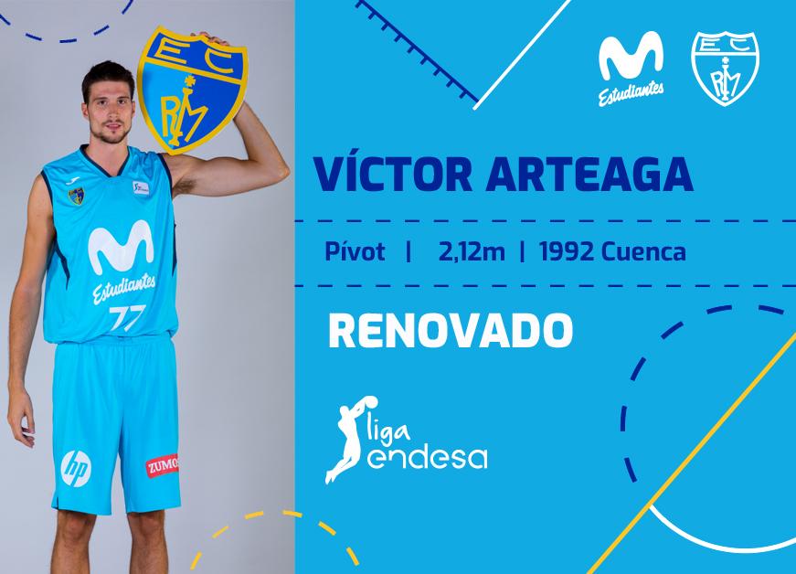 Arteaga, dos años más en Movistar Estu
