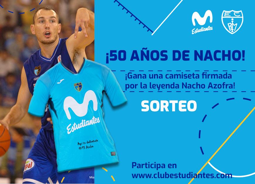 Sorteo camiseta firmada por Nacho Azofra