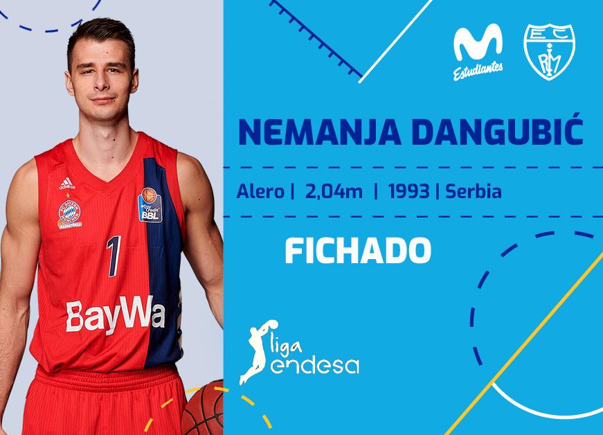 Nemanja Dangubić, talento Euroliga para Movistar Estu