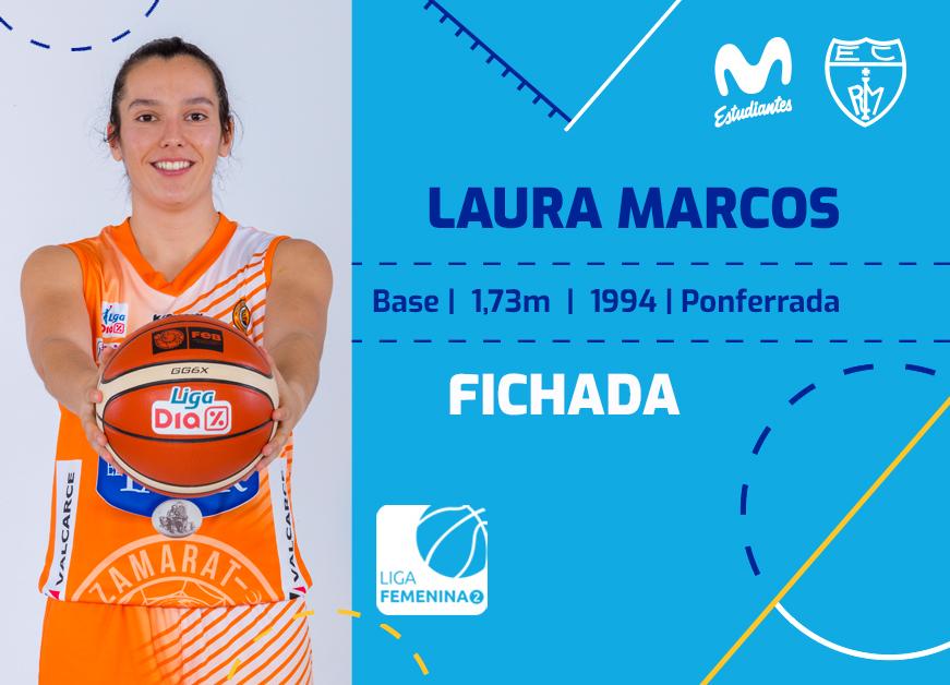 Laura Marcos, base para Movistar Estu LF2