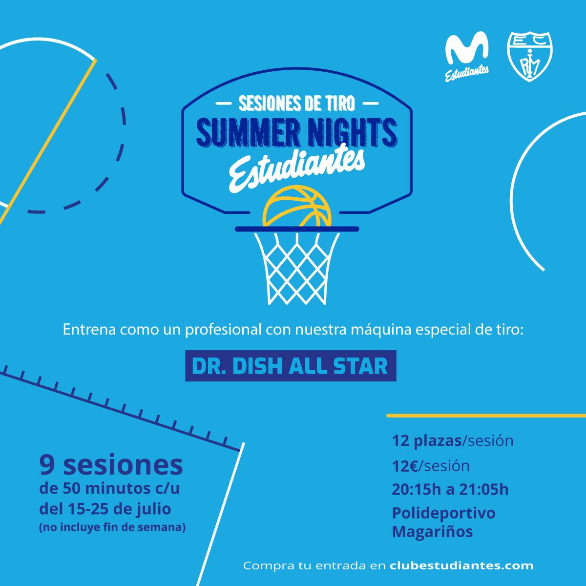 Sesiones de tiro Summer Nights Estudiantes